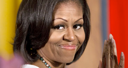 Michelle Obama unconcerned over girls' TV viewing