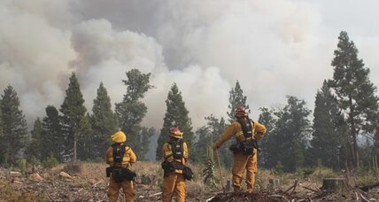 Ponderosa fire in Northern California forces evacuations