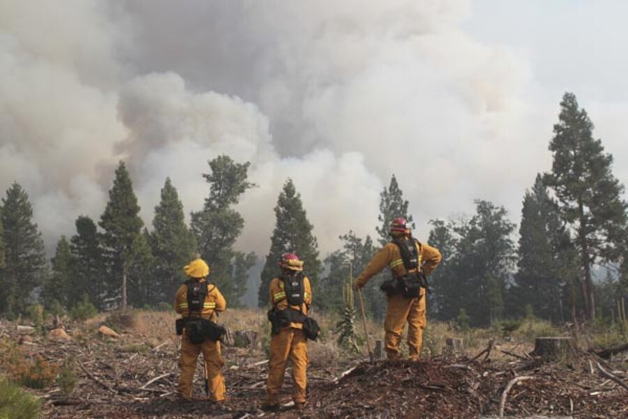 Northern California No Rust: Ponderosa Fire In Northern California Forces Evacuations