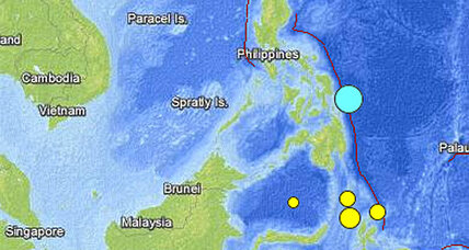 Philippines 7.6 earthquake: One dead, tsunami alert lifted