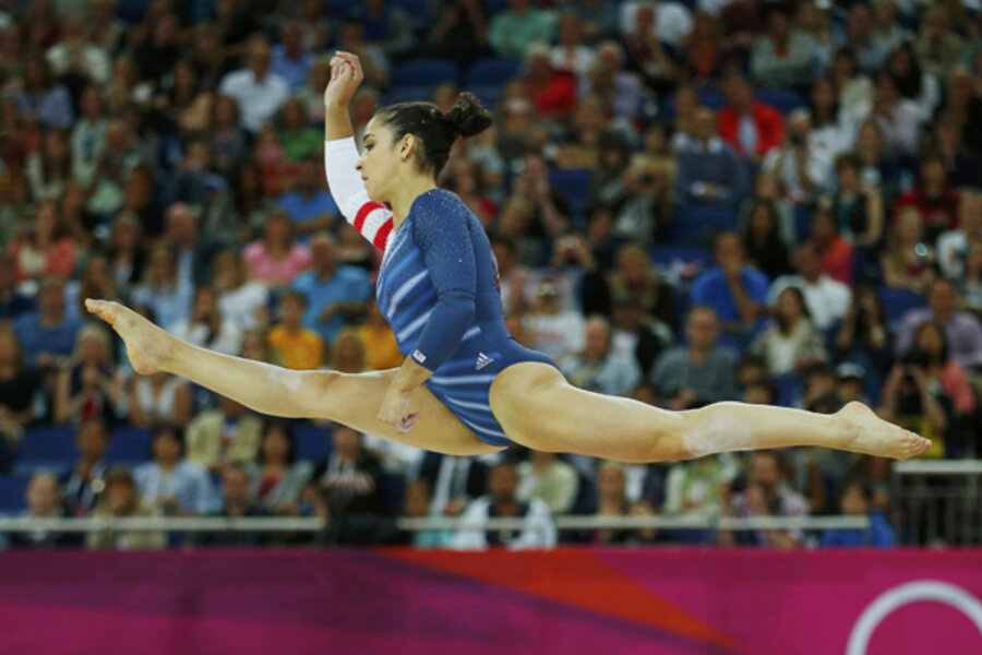 Aly Raisman Of Us Wins Olympic Gold On Floor Exercise