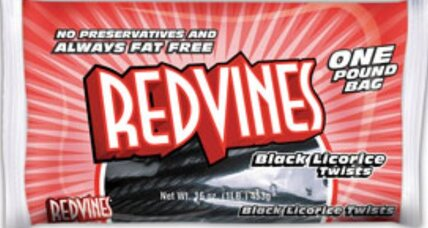 Red Vines black licorice recalled. Too much lead.