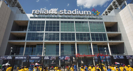 NFL fan falls to death at Houston's Reliant Stadium. Are stadiums unsafe?