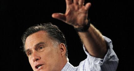 Romney blasts Obama over TV ad while President pushes for economic fairness