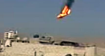 Syrian rebels claim to shoot down government helicopter (+video)