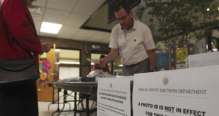 Federal court rules against Texas voter photo ID law