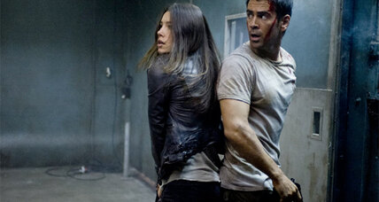 Colin Farrell and Jessica Biel in Total Recall: movie review (+trailer)