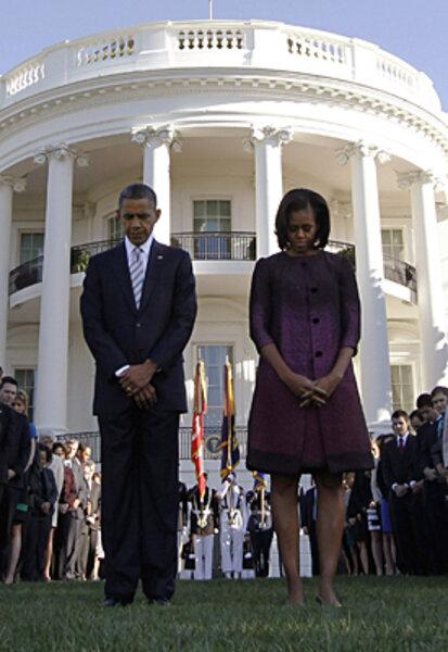 Barack obama pussy lawn jockey 10