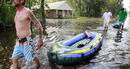 After Isaac, thousands still without power (+video)
