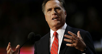 Was Mitt Romney's convention speech really a dud?