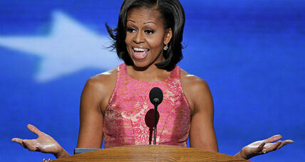 Michelle Obama paints a personal and political picture