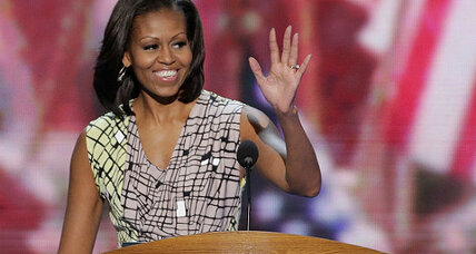 Michelle Obama: 'We all know who my husband is'