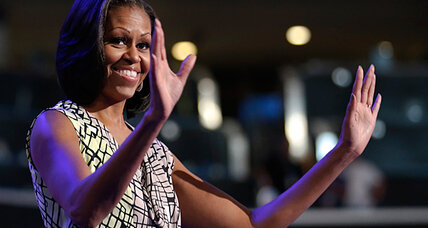 Michelle Obama's challenge: persuade voters not to fire her husband