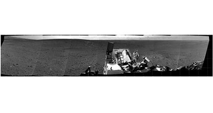 Curiosity Mars rover shoots spectacular full-circle panorama