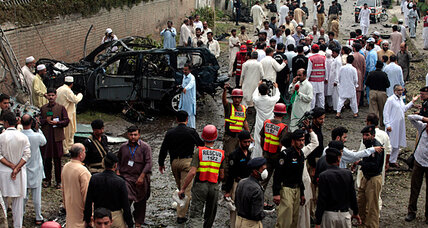 Suicide attack on US car in Pakistan shows resistance to offensive