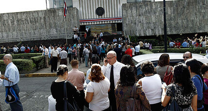 In earthquake-ready Costa Rica, quake size rattles