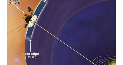 Where does the solar system end? Voyager 1 probe to find out, eventually.