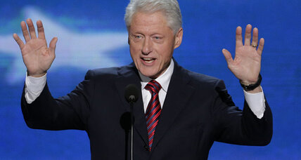 Bill Clinton: Obama 'laid the foundation for prosperity'