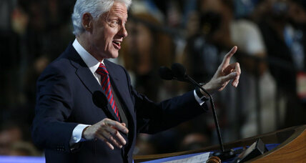 Bill Clinton speech: Has he become Obama's defender-in-chief? (+video)