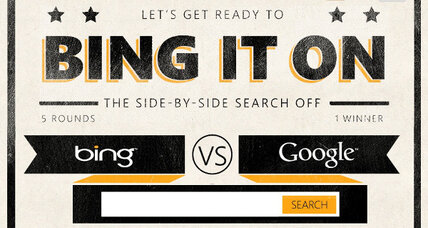 "Search engine wars: Microsoft invites Google to ""Bing It On"""
