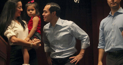 Julian Castro's daughter punctuates convention speech with hair toss