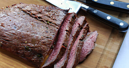 Tender and flavorful: Grilled Asian flank steak