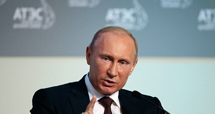 For first interview of new term, Putin puts priority on foreign audience