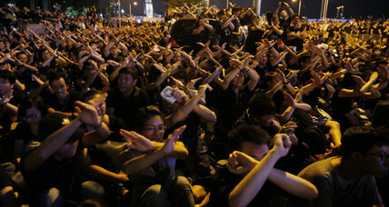 Following protests, Hong Kong backs down on Chinese patriotism classes