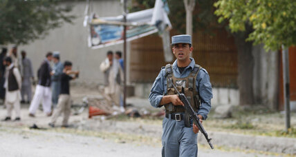 At least six killed by Kabul suicide bomber