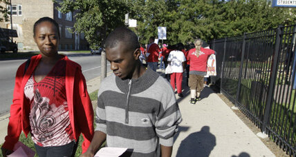 Chicago teachers strike: Is Rahm Emanuel's test a challenge for Obama?
