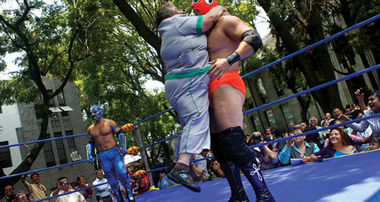 Lucha Libre: A spandex-clad campaign against obesity in Mexico