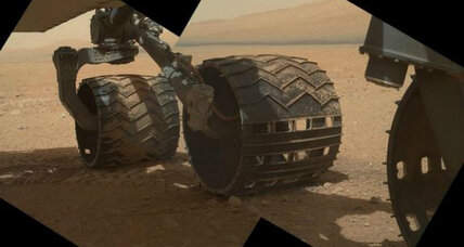 Mars rover snaps high-resolution photos of itself