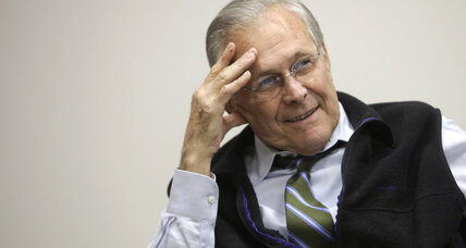 Company behind 'An Inconvenient Truth' to release Rumsfeld documentary
