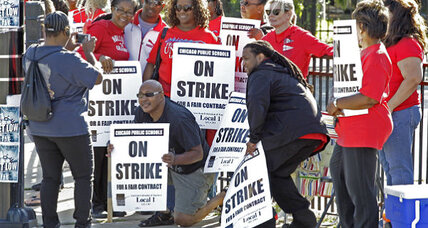 Chicago strike: Parents support teachers, but for how long? (+video)