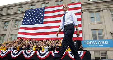 President Obama's convention 'bounce': Is it already starting to fade? (+video)