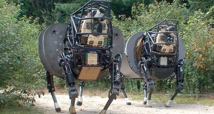 New DARPA robot could make Marine pack mules obsolete