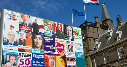 Euro debt crisis top of mind as Dutch head to polls