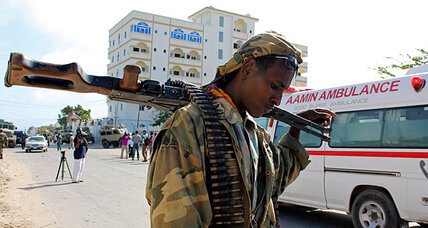New Somali president survives terrorist attack, faces daunting job
