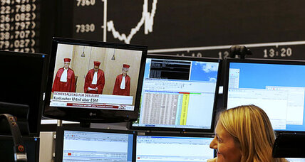 Stocks up after European rescue fund ruling
