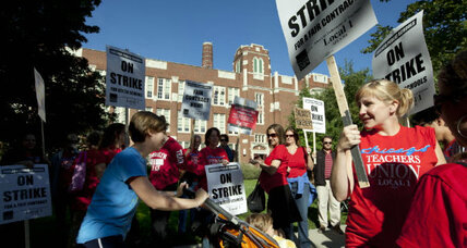 Chicago teachers strike: Mom's long view of city's work stoppages