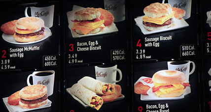 McDonald's adds calorie counts. Will other chains follow? Yes