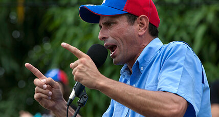 Does Chavez challenger have a shot in Venezuela's presidential race?