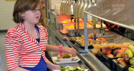School lunch: mixed grades for new, healthy rules