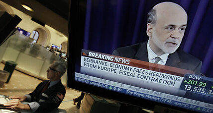 Bernanke bump: Stocks rise early on Fed action