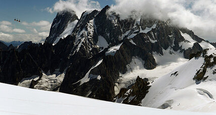 Appearance of explosive WWI relics underscores Alps glaciers' retreat