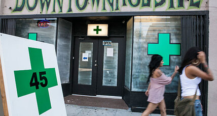 Can Los Angeles ban medical marijuana shops? Voters set to decide.