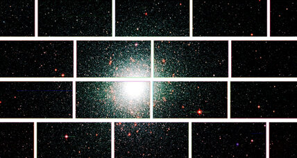 Dark Energy Camera whirs to life, begins snapping deep-space photos