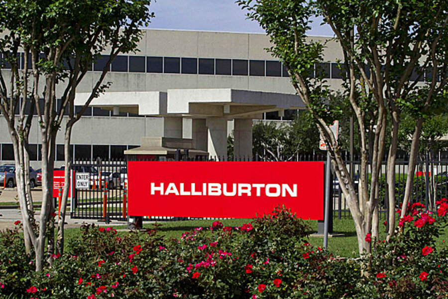 The second-largest oilfield services provider in the world, halliburton co