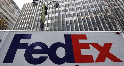 FedEx's weak outlook leaves stocks mixed