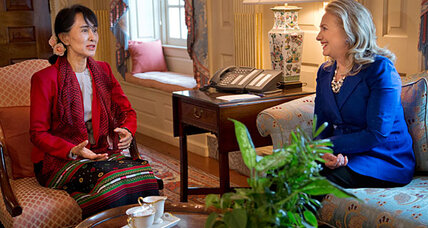 Aung San Suu Kyi to meet with Obama